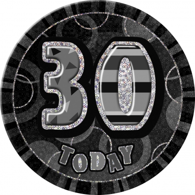 0 th BIRTHDAY 30 Today Prism Age Birthday  Badges