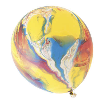 "12"" MARBLEIZED BALLOONS - Pack of 6"