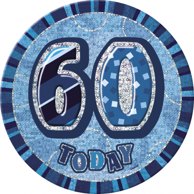 60th BIRTHDAY 60 Today Prism Age Birthday  Badges