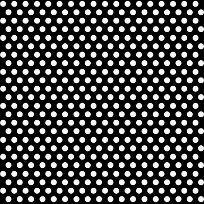 "Black Polka Dots    Gift Wrap Roll 30""× 50"" FT."