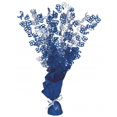 BLUE GLITZ CENTERPIECE - 60