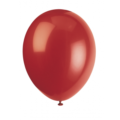 "CHERRY RED PREMIUM BALLOONS 12""inch - Pack of 50"