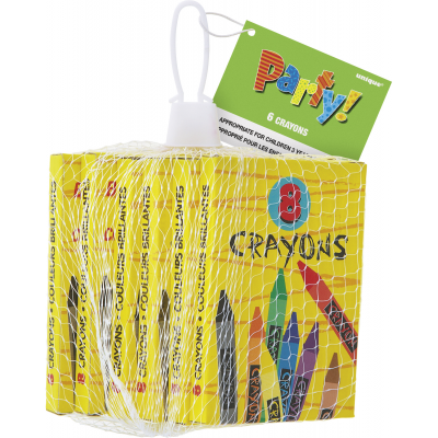 CRAYONS - PACK OF 6