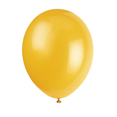 "DAFFODIL   YELLOW   PREMIUM   BALLOONS 12"" inch - Pack of 50"