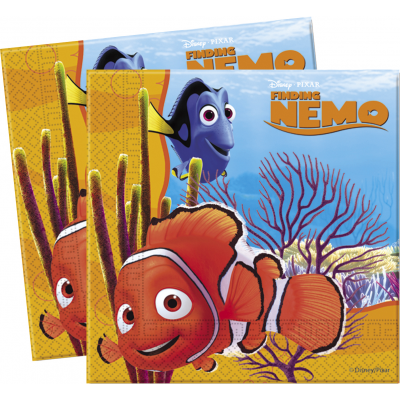 DISNEY FINDING NEMO  Luncheon Napkins- Pack of 20