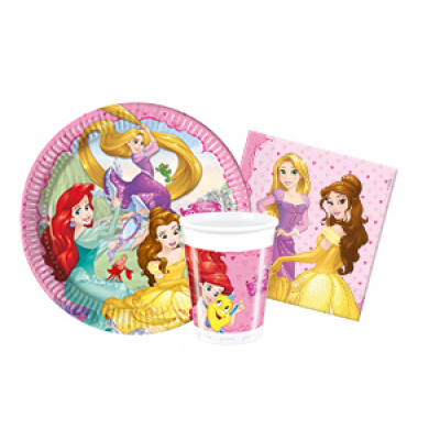 Disney princes Party Pack For 8