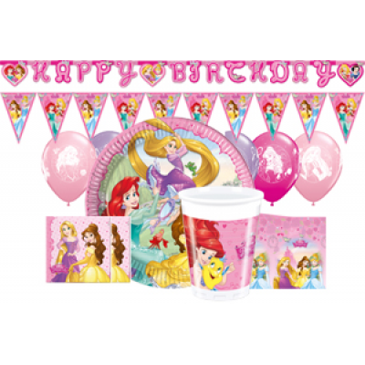 Disney princess Wow Party pack 8