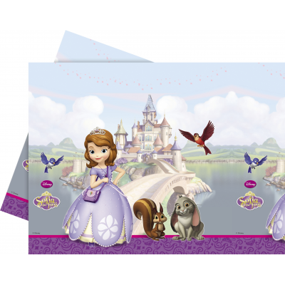DISNEY SOFIA THE FIRST  Plastic table cover 120*180cm