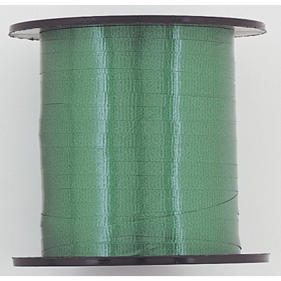 EMERALD GREEN SOLID COLOUR CURLING RIBBON