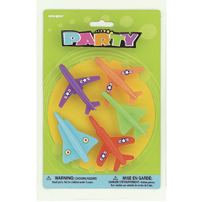 JET PLANES ASSORTED DESIGNS - PACK OF 5