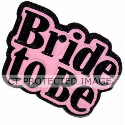 Padded Bride To Be Brooch