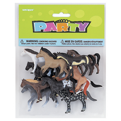 PRANCING HORSES ASSORTED DESIGNS - PACK OF 10
