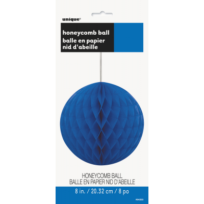 royal blue HONEY  COMB BALLS