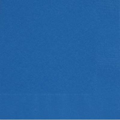ROYAL BLUE LUNCHEON NAPKINS - Pack of 50