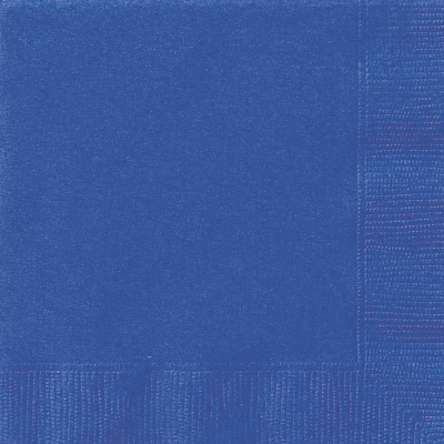 ROYAL BLUE  Paper Tableware-LUNCHEON NAPKINS - Pack of 20