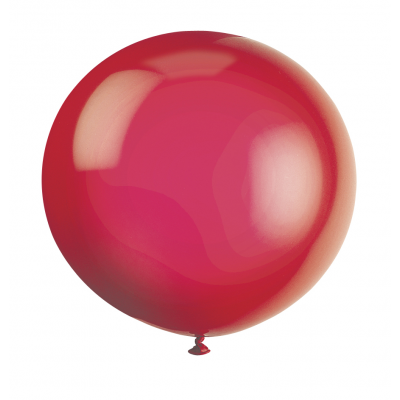 "SCARLET RED Premium Balloons 36"" - pack of 6"