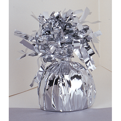 Silver FOIL BALLOON WEIGHTS SILVER