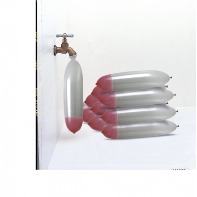 WATER ROCKET BALLOONS - Pack of 50