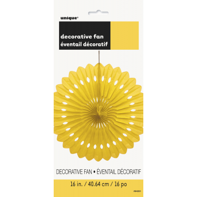 Yello Hanging Decorative Fan
